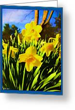 Spring Series Painting Greeting Card