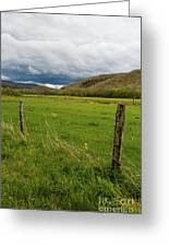 Spring Storm Clouds Greeting Card