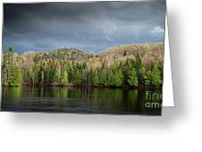 Spring Storm Coming Greeting Card