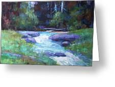 Spring Stream Greeting Card