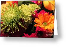 Spring/summer Bouquet - Flowers Greeting Card