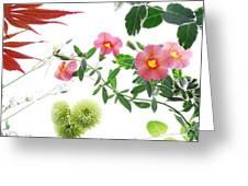 Spring Tapestry Greeting Card