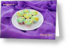 Spring Time Is Cupcake Time Greeting Card