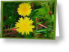 Spring Time Series Painting Greeting Card