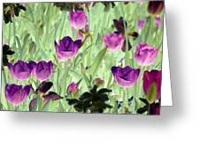 Spring Tulips - Photopower 3051 Greeting Card