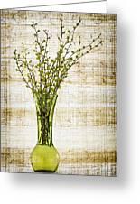 Spring Vase Greeting Card