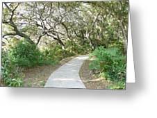 Spring Walkway Greeting Card