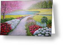 Spring Greeting Card by William H RaVell III