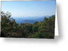Springer Mountain Georgia Greeting Card
