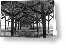Springmaid Pier In Myrtle Beach South Carolina Greeting Card