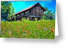 Spring's Blessings Greeting Card