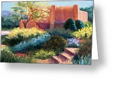 Springtime Adobe Greeting Card