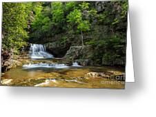 Springtime At Saint Mary's Falls Virginia Greeting Card