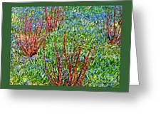 Springtime Impression Greeting Card