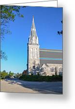 Springtime In Radnor - Villanova University Greeting Card