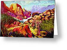 Springtime In The Southwest  Greeting Card