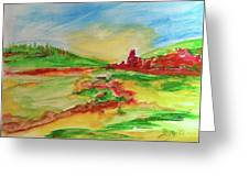 Springtime In The Valley Greeting Card