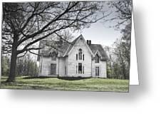 Springtime Ledge Homestead-bicolor Greeting Card