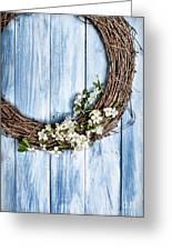 Springtime Wreath Greeting Card