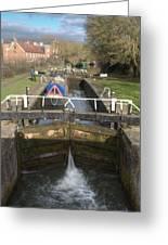 Springwell Lock Rickmansworth Greeting Card