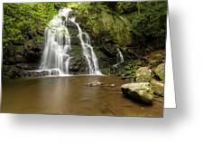 Spruce Flats Falls 1 A Greeting Card