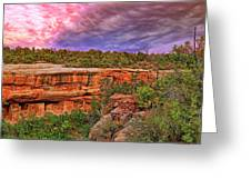 Spruce Tree House At Mesa Verde National Park - Colorado Greeting Card