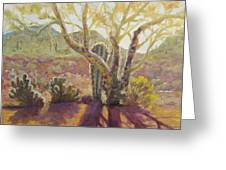 Spur Cross, April Greeting Card
