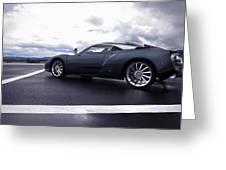 Spyker C12 Zagato Greeting Card