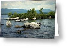 Squam Lake, New Hampshire Greeting Card