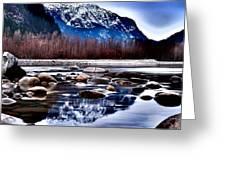 Squamish River Greeting Card