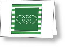 Square 8-20c Greeting Card