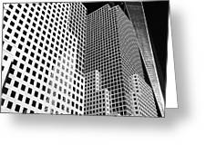 Squared, New York City Greeting Card