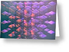 Squared2 Greeting Card
