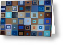Squares Have It Greeting Card