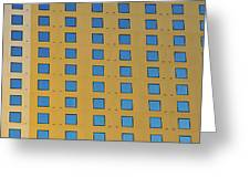 Squares In A Square Greeting Card