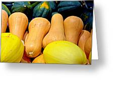 Squashes Greeting Card