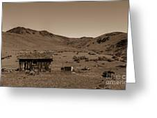 Squaw Butte Homestead Greeting Card