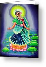 Sri Gahavarvan Vali Greeting Card