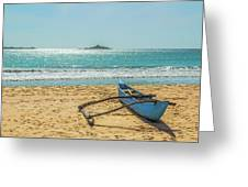 Sri Lanka. Nilaveli Greeting Card