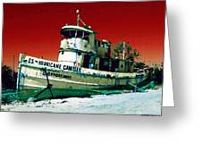 S.s. Hurricane Camille - 3 Greeting Card