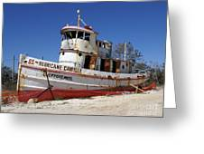 S.s. Hurricane Camille Greeting Card