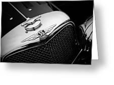 Ss Jaguar Greeting Card