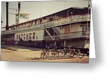 Ss Natchez, New Orleans, October 1993 Greeting Card