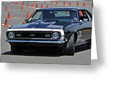 Ss On Autocross Course Greeting Card