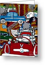 Ss Studebaker Greeting Card by Rojax Art
