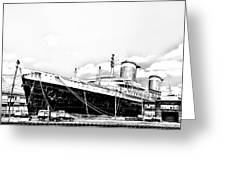 Ss United States Greeting Card