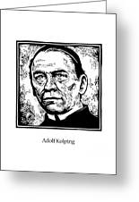 St. Adolf Kolping - Jladk Greeting Card