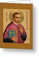 St. Alphonsus Liguori - Jcalp Greeting Card