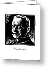 St. Andre Bessette - Jlanb Greeting Card