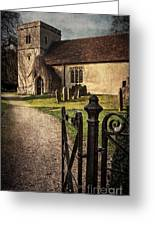St Andrews At Chaddleworth Berkshire Greeting Card